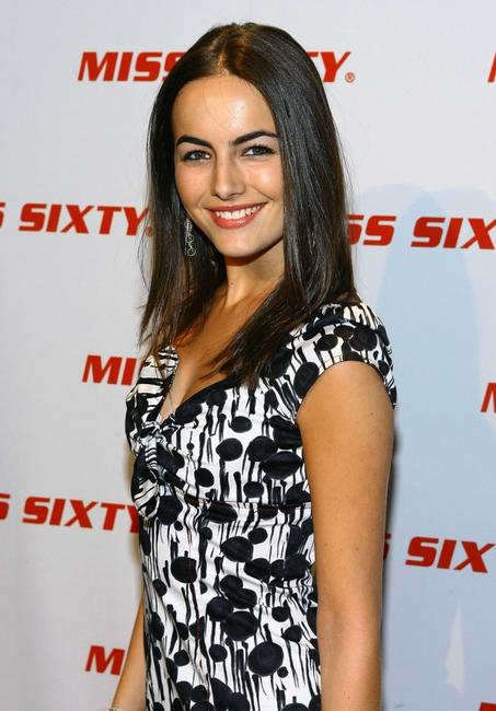 Camilla Belle at the Miss Sixty Fall 2007 fashion show.