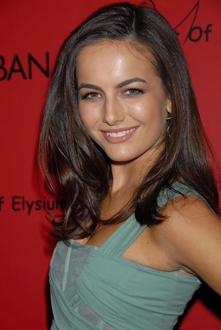 Camilla Belle at the announcement of the charity collaboration between fashion designers Dolce and Gabbana and actress Penelope Cruz to benefit The Art of Elysium.