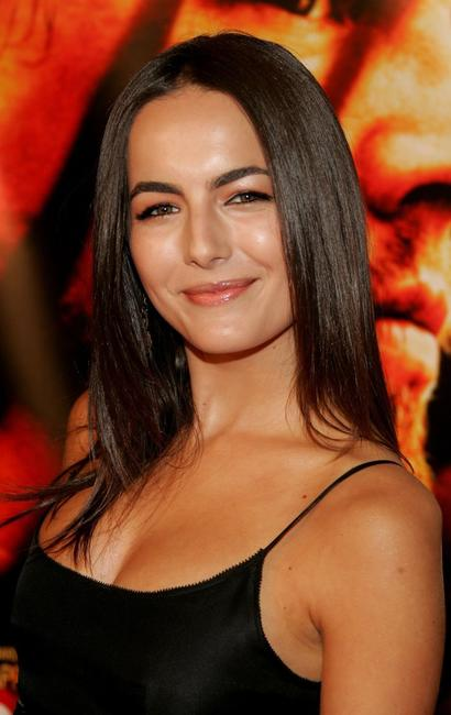 Camilla Belle at the premiere of