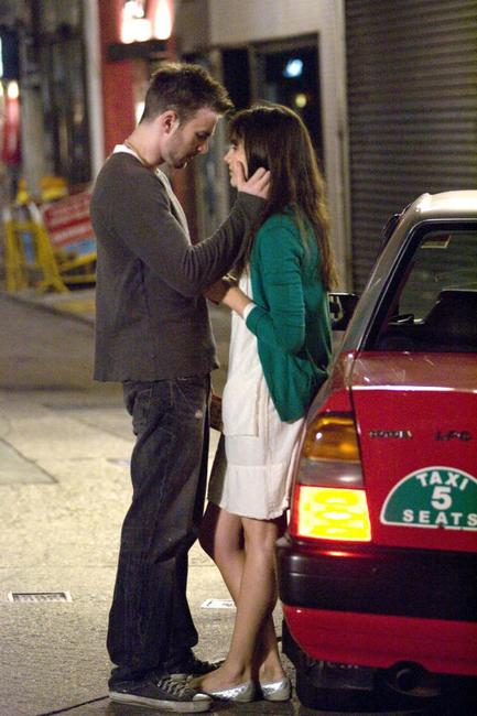 Chris Evans and Camilla Belle in