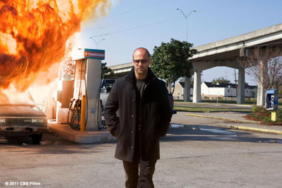 Jason Statham as Arthur Bishop in ``The Mechanic.''