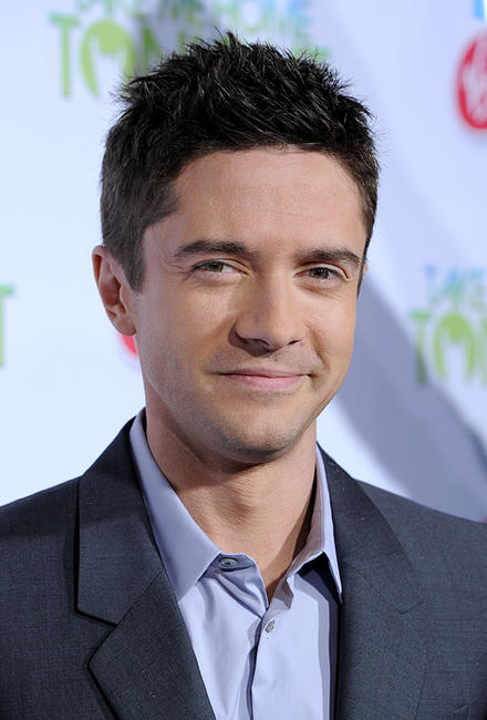 Topher Grace at the California premiere of