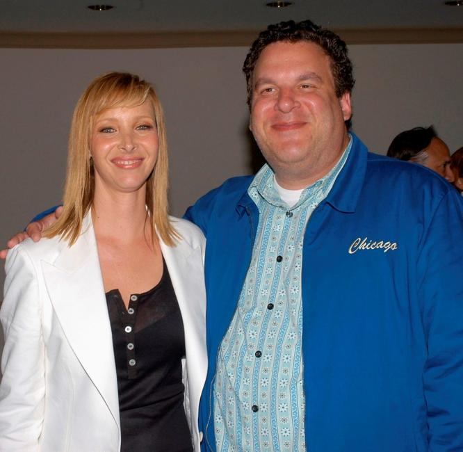 Lisa Kudrow and Jeff Garlin at the premiere of