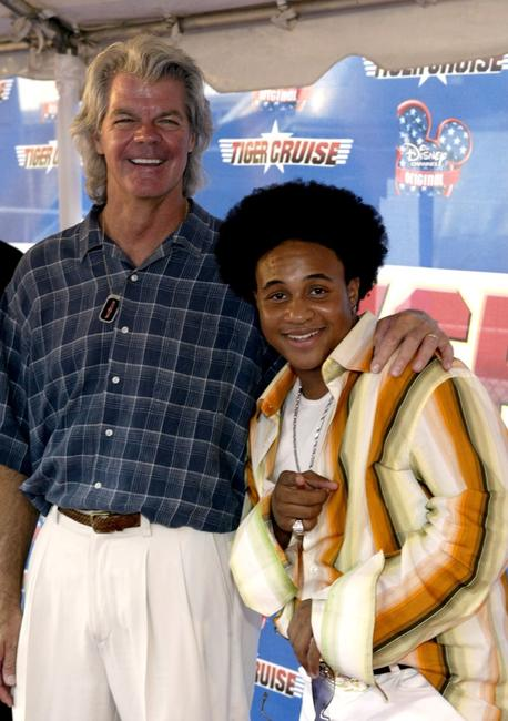 Director Duwayne Dunham and Orlando Brown at the premiere of