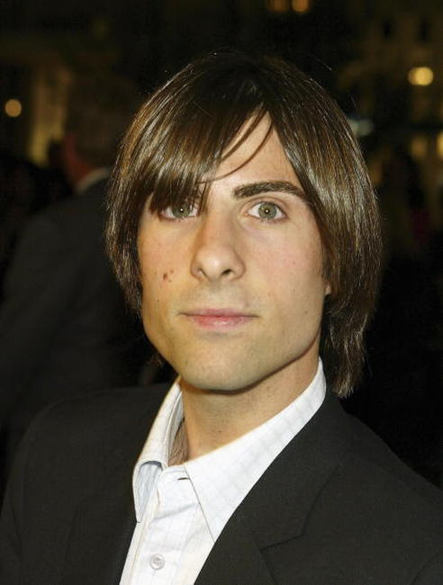 "Jason Schwartzman at the premiere of ""I Heart Huckabees"" in Los Angeles, California."