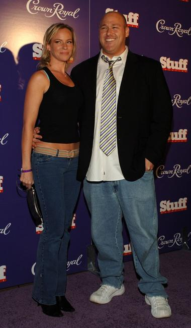 Christina Wilson and Will Sasso at the Jermaine Dupri & The Crown Royal's Kentucky Derby Bash.