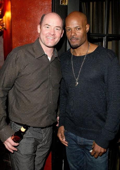 David Koechner and Damon Wayans at the Global Green USA's 6th Annual Pre-Oscar Party.