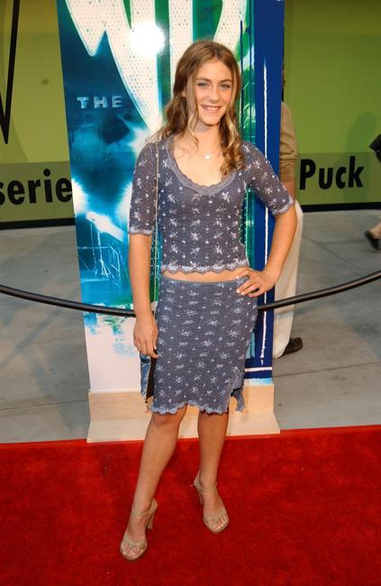 Caitlin Wachs at the WB Network's 2002 Summer party.