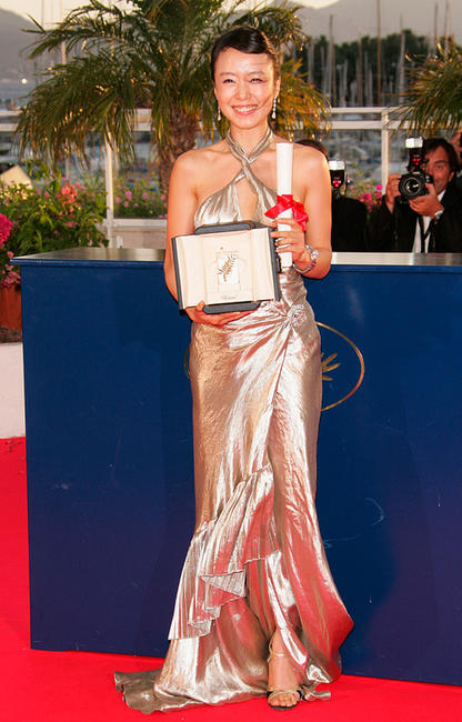 Jeon Do-yeon at the 60th International Cannes Film Festival.