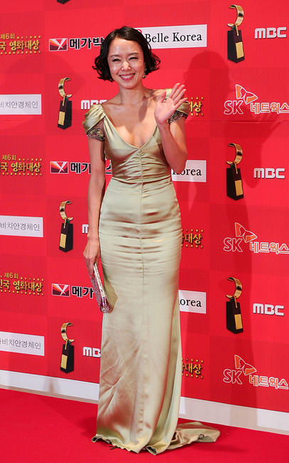Jeon Do-yeon at the 6th Korean Film Awards in Seoul.