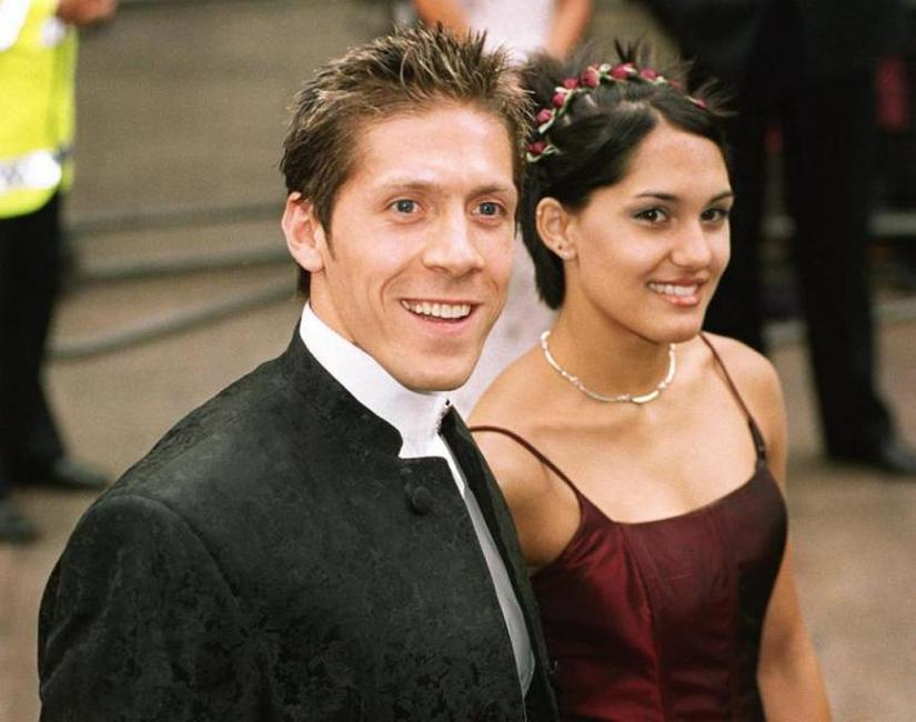 Ray Park and Guest at the premiere of
