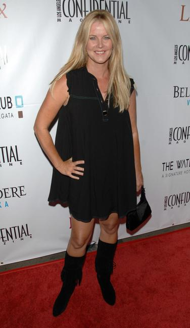 Maeve Quinlan at the Los Angeles Confidential Magazine's Pre-emmy party.