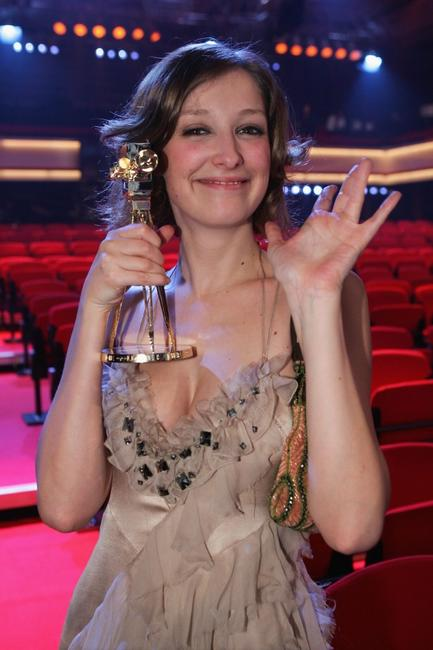 Alexandra Maria Lara at the Goldene Kamera Awards.