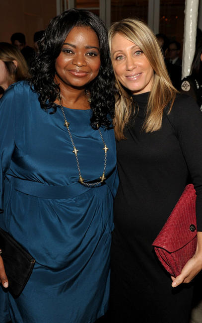 Octavia L. Spencer and Chairman & CEO of Universal Pictures Stacey Snider at the ELLE's 18th Annual Women in California.