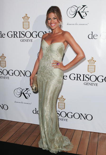 Eva Mendes at the De Grisogono party, Cannes.