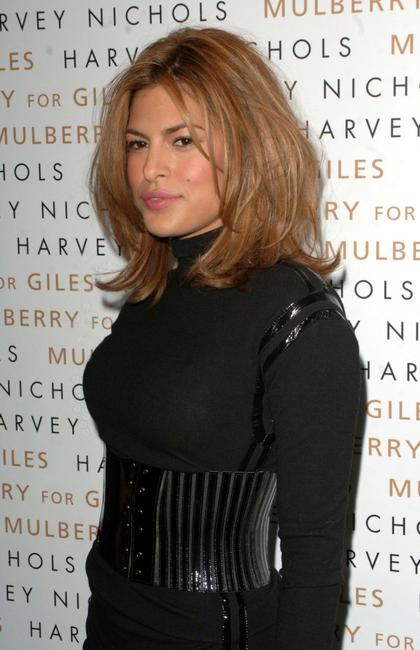 Eva Mendes at the Mulberry For Giles Bags - Launch Party.