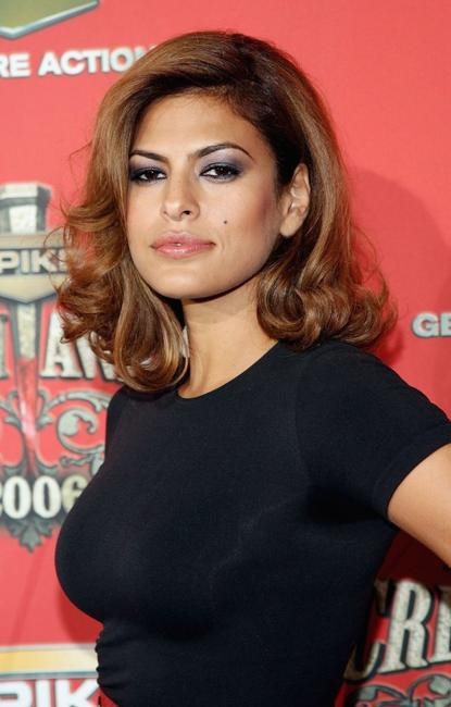 Eva Mendes at the Spike TV's