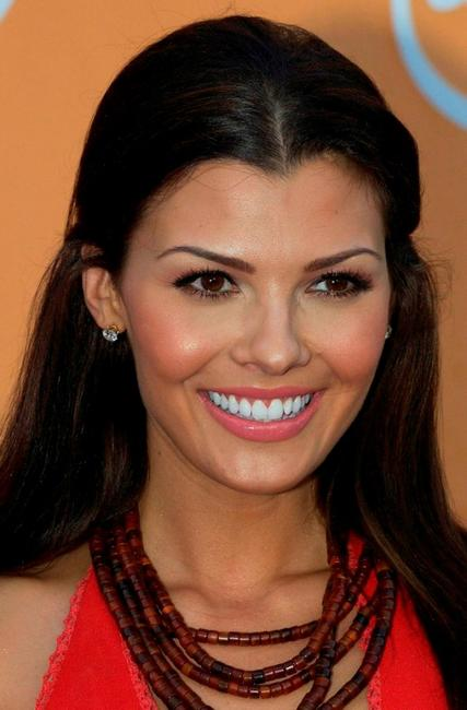 Ali Landry at the UPN Stars Party.