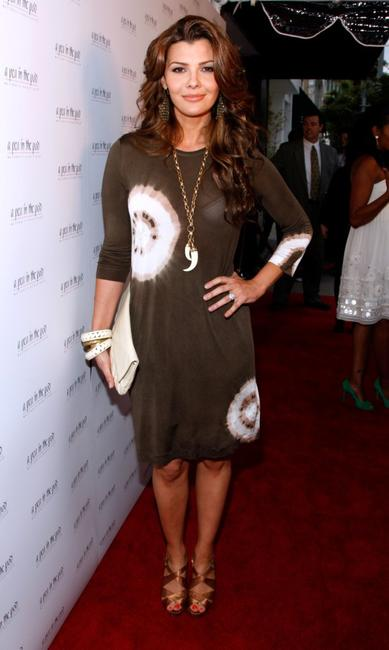 Ali Landry at the book release party of