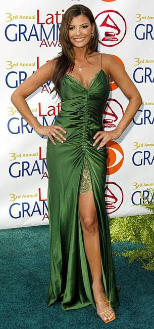 Ali Landry at the 3rd Latin Grammy Awards.
