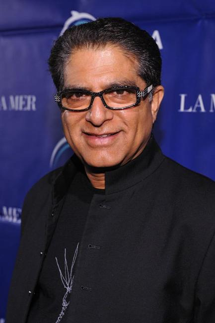 Deepak Chopra at the Oceana's 2009 Partners Award Gala.