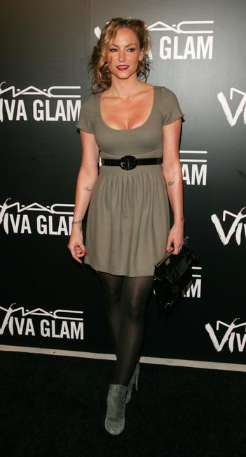 Drea de Matteo at the M.A.C. Viva Glam VI dinner to benefit Aids research.