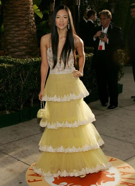 Zhang Ziyi at the 2007 Vanity Fair Oscar Party.