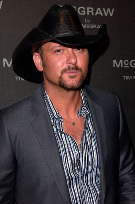 Tim McGraw at the launch of his new fragrance