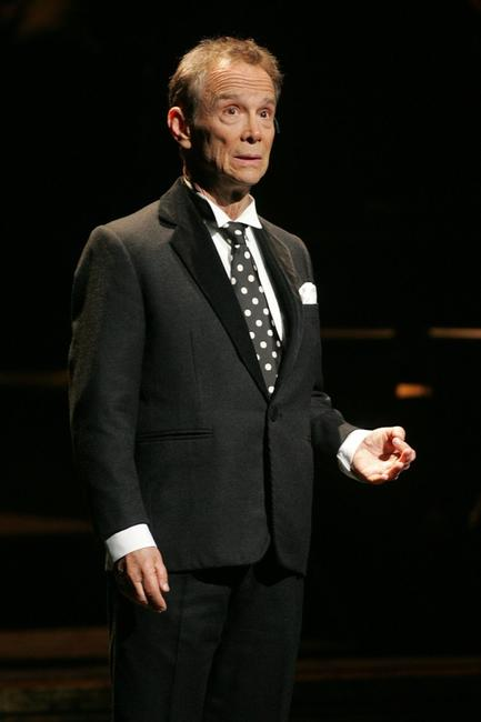 Joel Grey at the dress rehearsal for the 10th Anniversary of Broadway's Chicago.