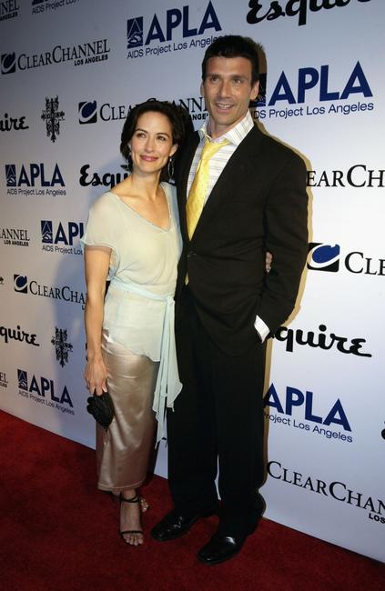 Wendy Moniz and Frank Grillo at the Abbey/Esquire Magazine's