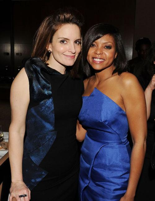 Tina Fey and Taraji P. Henson at the after party of the New York premiere of
