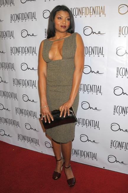 Taraji P. Henson at the Los Angeles Confidential Magazine and Niche Medias celebration of the newest issue of Los Angeles Confidential magazine.