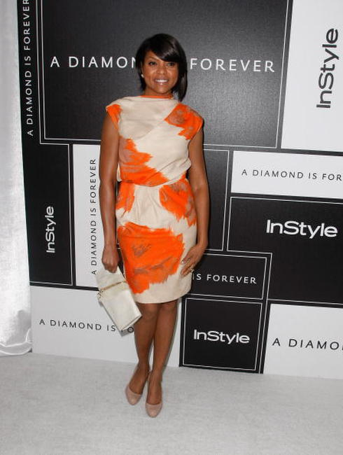Taraji P. Henson at the 8th Annual Awards Season Diamond Fashion Show.
