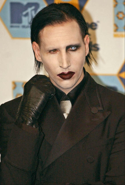 Marilyn Manson at the MTV Europe Music Awards.