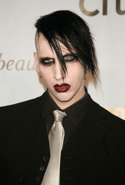 Marilyn Manson at the