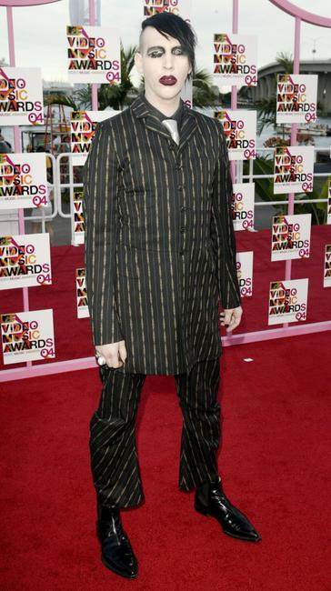 Marilyn Manson at the 2004 MTV Video Music Awards.