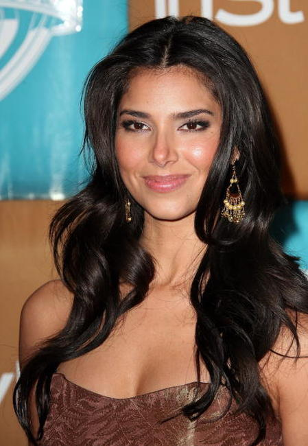 Roselyn Sanchez at the In Style Magazine and Warner Bros. Studios Golden Globe After Party.