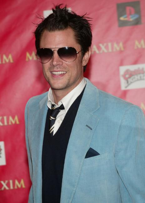 Johnny Knoxville at the Maxim Magazine's Circus Maximus Party.