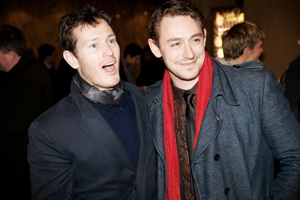 Nick Moran and JJ Feild at the UK gala screening of