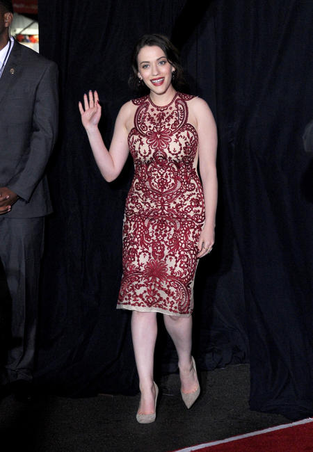 Kat Dennings at the California premiere of