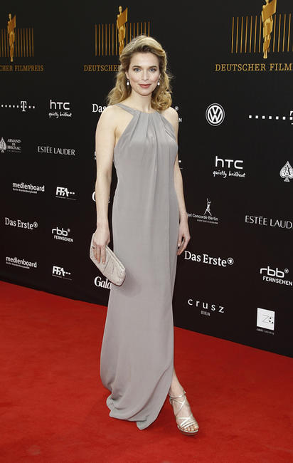 Thekla Reuten at the Lola - German Film Award 2012 in Berlin.