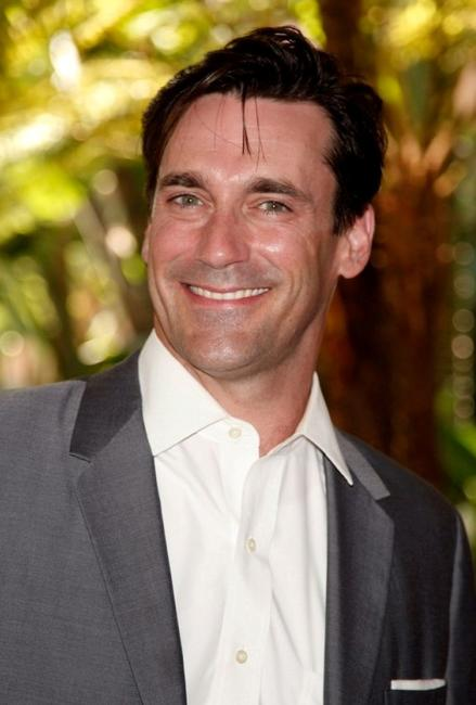Jon Hamm at the Hollywood Foreign Press Associations annual summer luncheon.