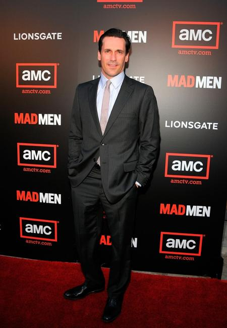 Jon Hamm at the premiere of