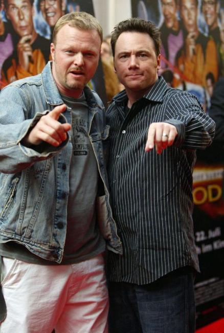 Stefan Raab and Michael