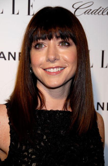 Alyson Hannigan at the Elle's 14th Annual Women in Hollywood party.