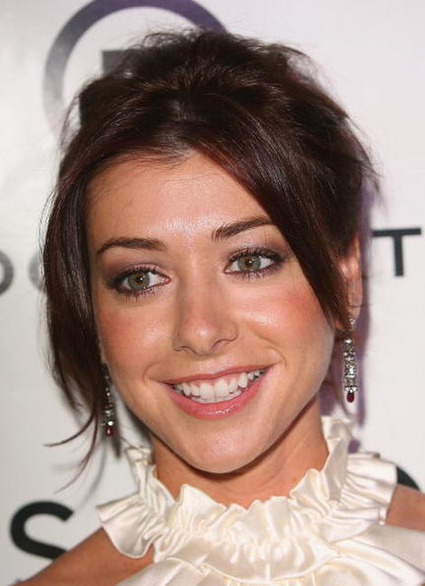 Alyson Hannigan at the premiere party for