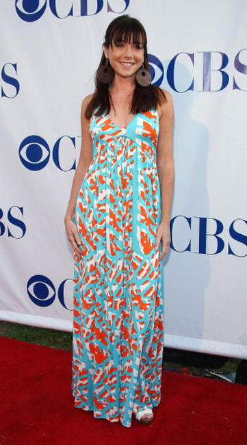 Alyson Hannigan at the CBS Summer