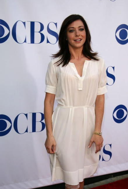 Alyson Hannigan at the CBS 2006 Summer TCA Party.