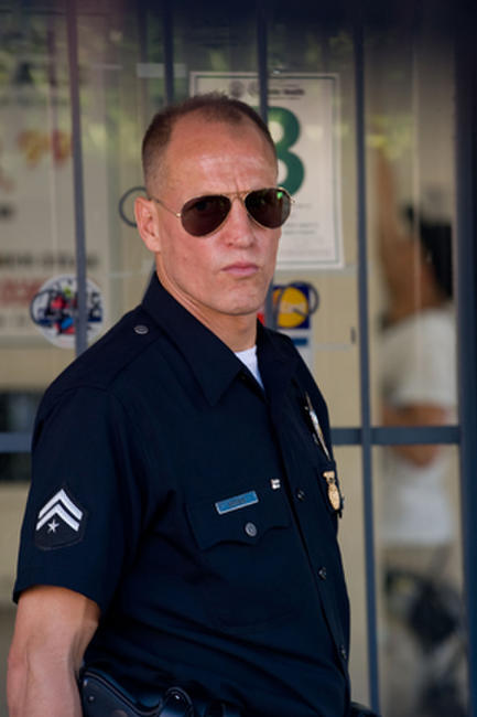 Woody Harrelson as Dave Brown in ''Rampart.''
