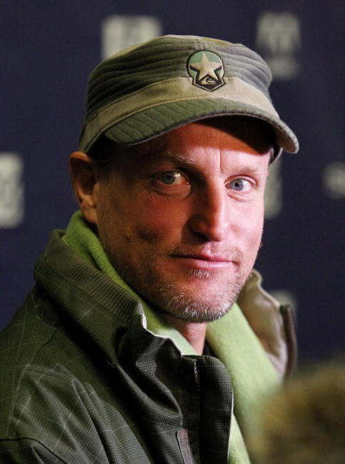 Woody Harrelson at the premiere of